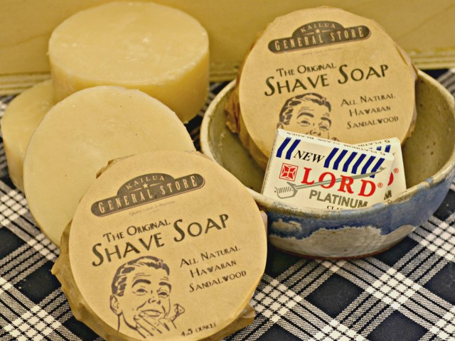 Shave Soap made Fresh in Kailua