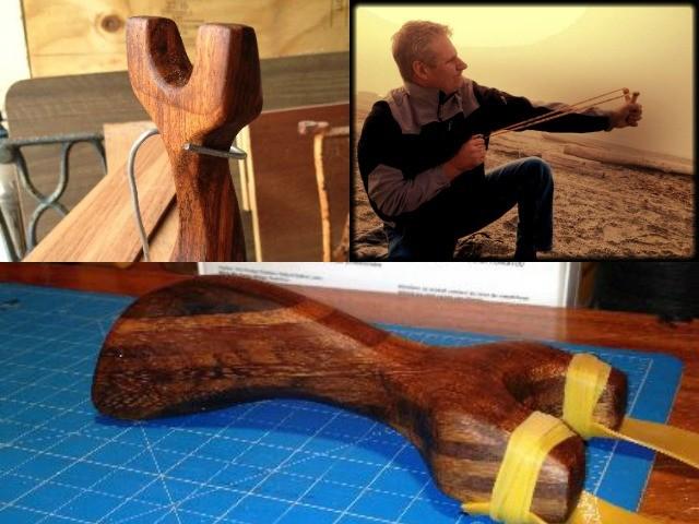 Handmade Koa Catapults {Slingshots}